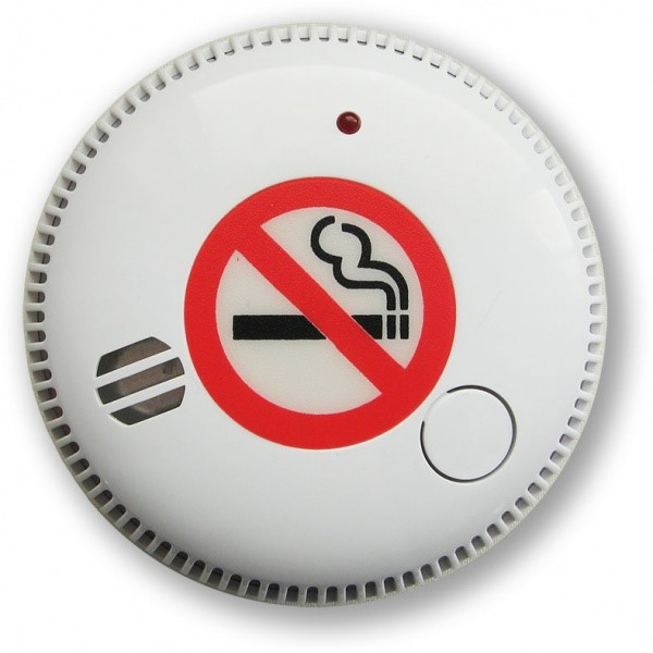 CDA707R autonomní detektor cig.kouře se sir. a dálk. signalizací