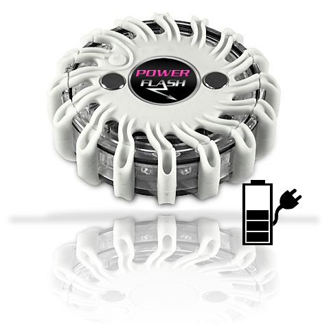 Výstražné bezpečnostní LED světlo Power Flash 301B (203B-blistr)