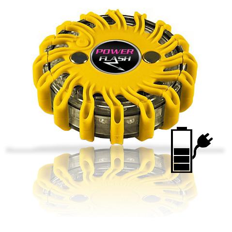 Výstražné bezpečnostní LED světlo Power Flash 301L (203L-blistr)