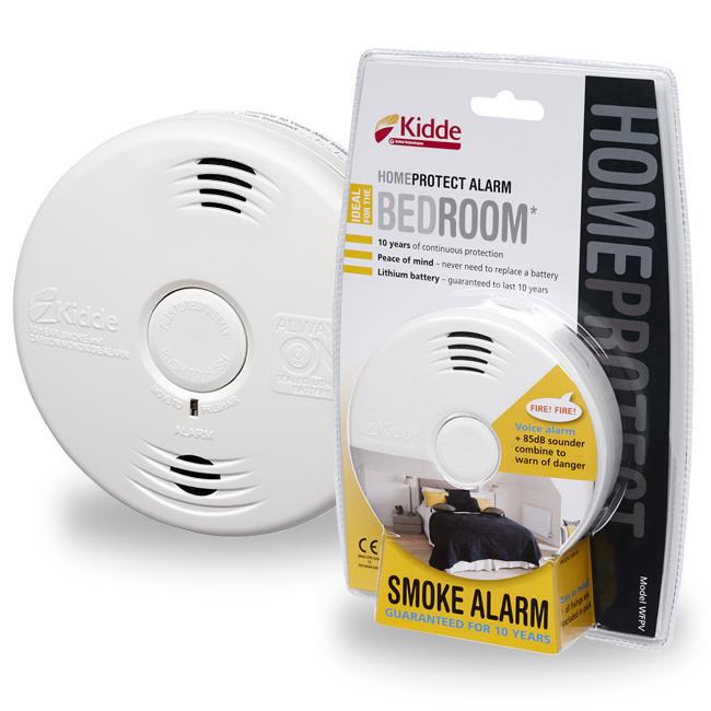 Hlásič požáru pro ložnice Kidde WFPV - Home Protect